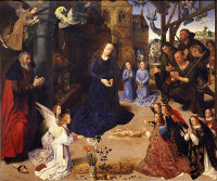 Hugo van der Goes: The Adoration of the Shepherds