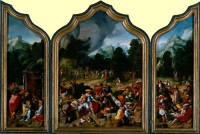 Lucas van Leyden: The Adoration of the Golden Calf