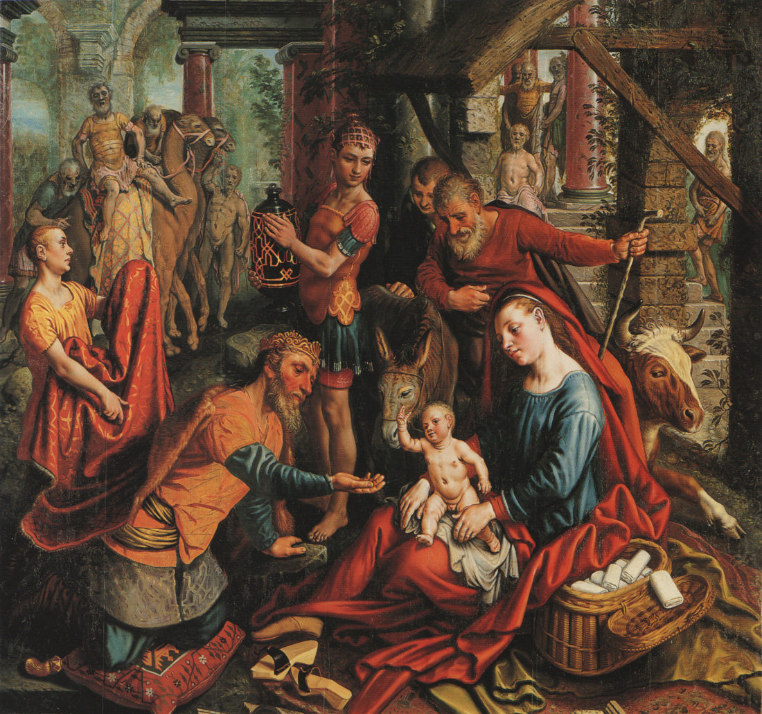Pieter Aertsen: Adoration of the Magi
