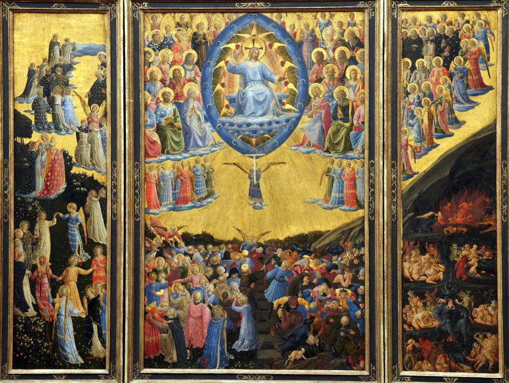 Fra Angelico: El Juicio Final