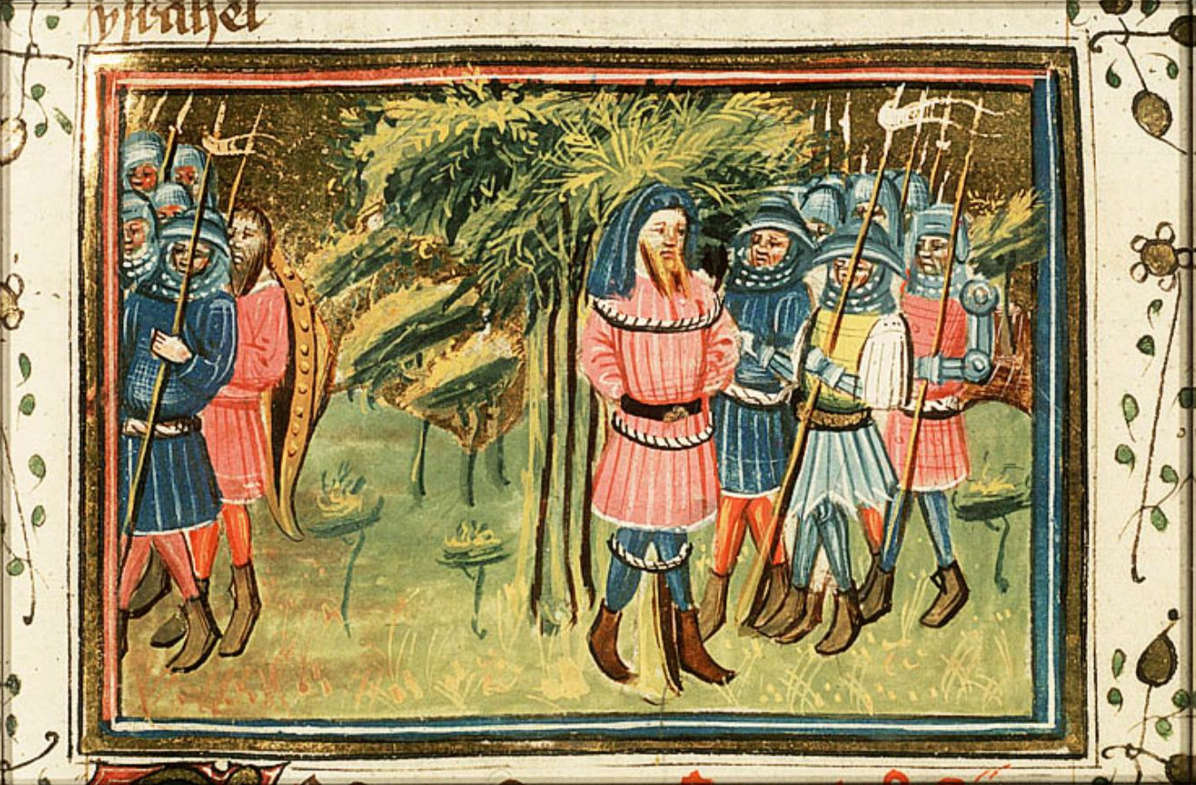 Azor masters: Achior liberated by the Israelites