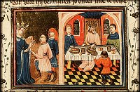 Azor masters: Queen Vashti Refuses to Appear before Ahasuerus