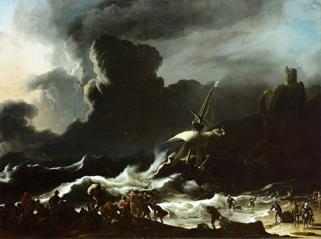 Ludolf Backhuysen: Paul's Shipwreck
