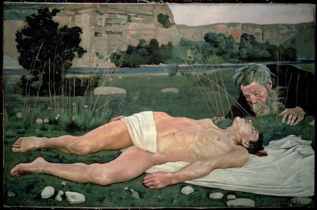 Ferdinand Hodler: The Good Samaritan