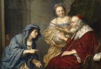 Govert Flinck: Bathsheba makes an appeal to David