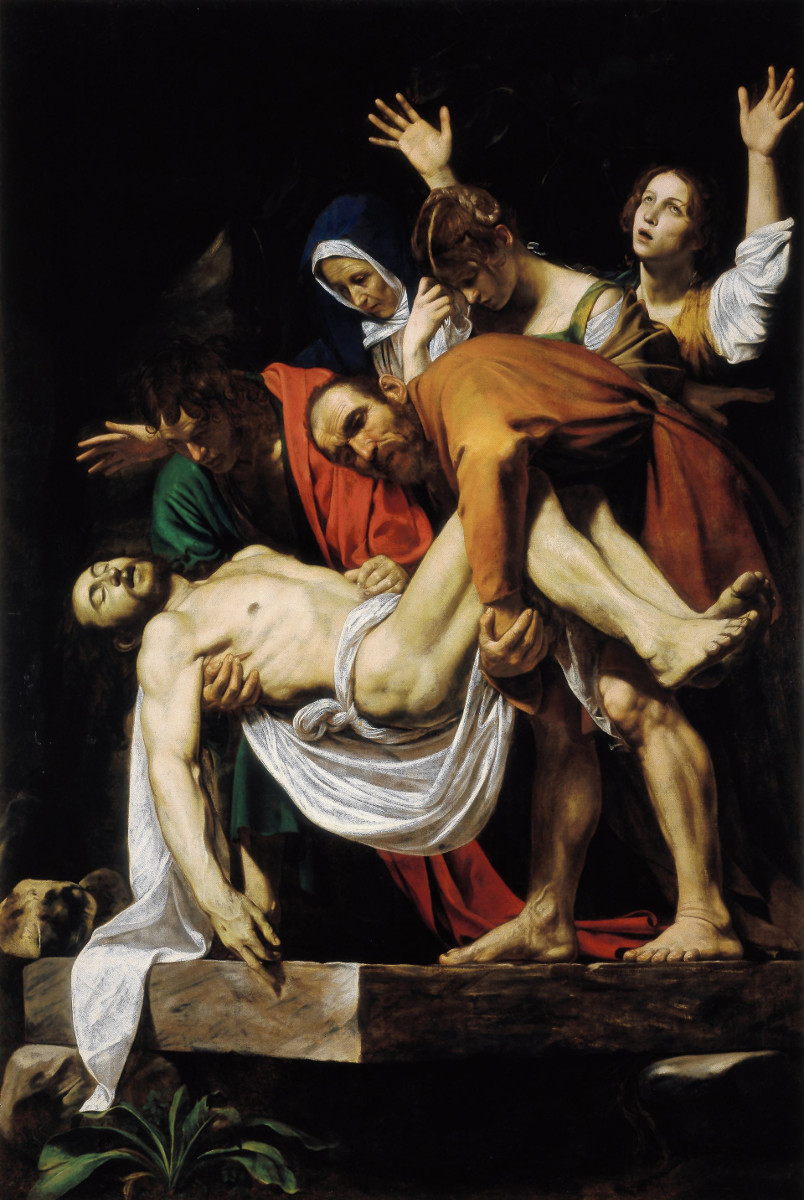 Caravaggio: The Entombment