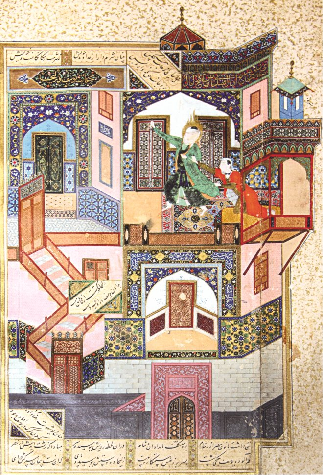 Kamal ud-din Behzad: The Seduction of Yusuf
