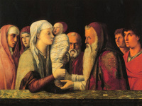 Giovanni Bellini: Presentation at the Temple