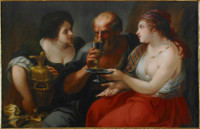Antonio Bellucci: Lot and his Daughters
