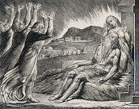 William Blake: The Book of Job -  07