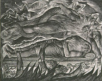 William Blake: The Book of Job -  11