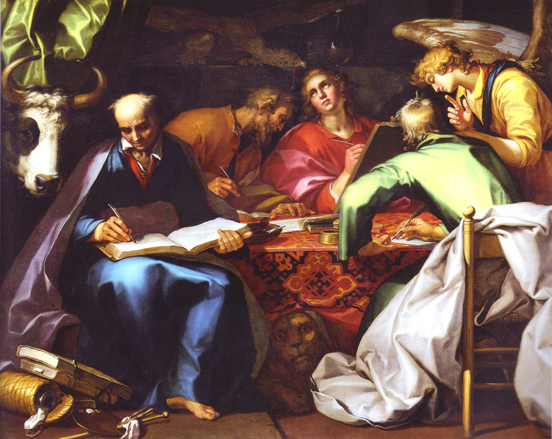 Abraham Bloemaert: The Four Evangelists