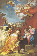 Abraham Bloemaert: Adoration of the Magi