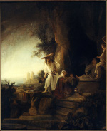 Ferdinand Bol: The Risen Christ Appearing to Mary Magdalen (painting)