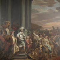 Ferdinand Bol: Cyrus Hands over the Looted Treasure
