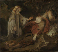 Ferdinand Bol: The Angel Appears to Elijah