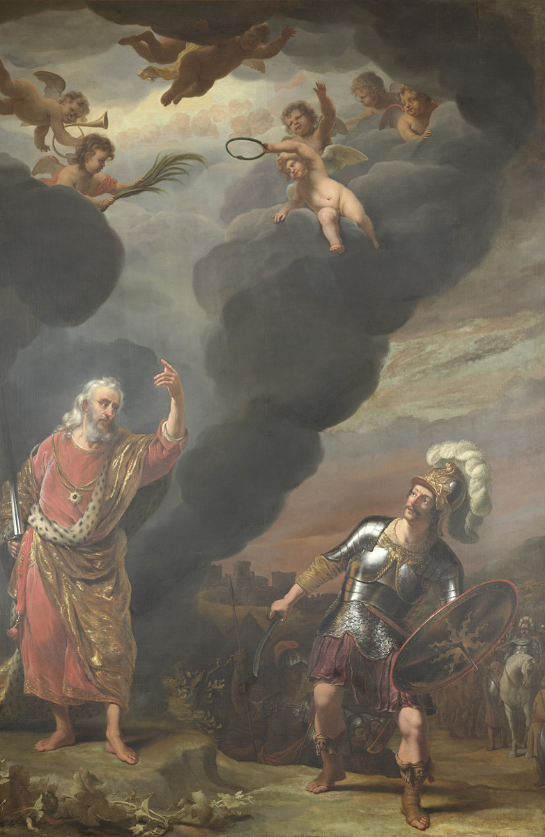 Ferdinand Bol: The Captain of the Lord's Army Appears to Joshua