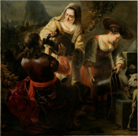 Ferdinand Bol: Rebecca and Eliezer at the Well