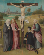 Jheronimus Bosch: The Calvary with Donor