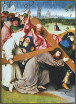 Jheronimus Bosch: The Carrying of the Cross (Escorial)