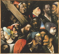Jheronimus Bosch: The Carrying of the Cross (Ghent)