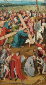 Jheronimus Bosch: The Carrying of the Cross (Vienna)
