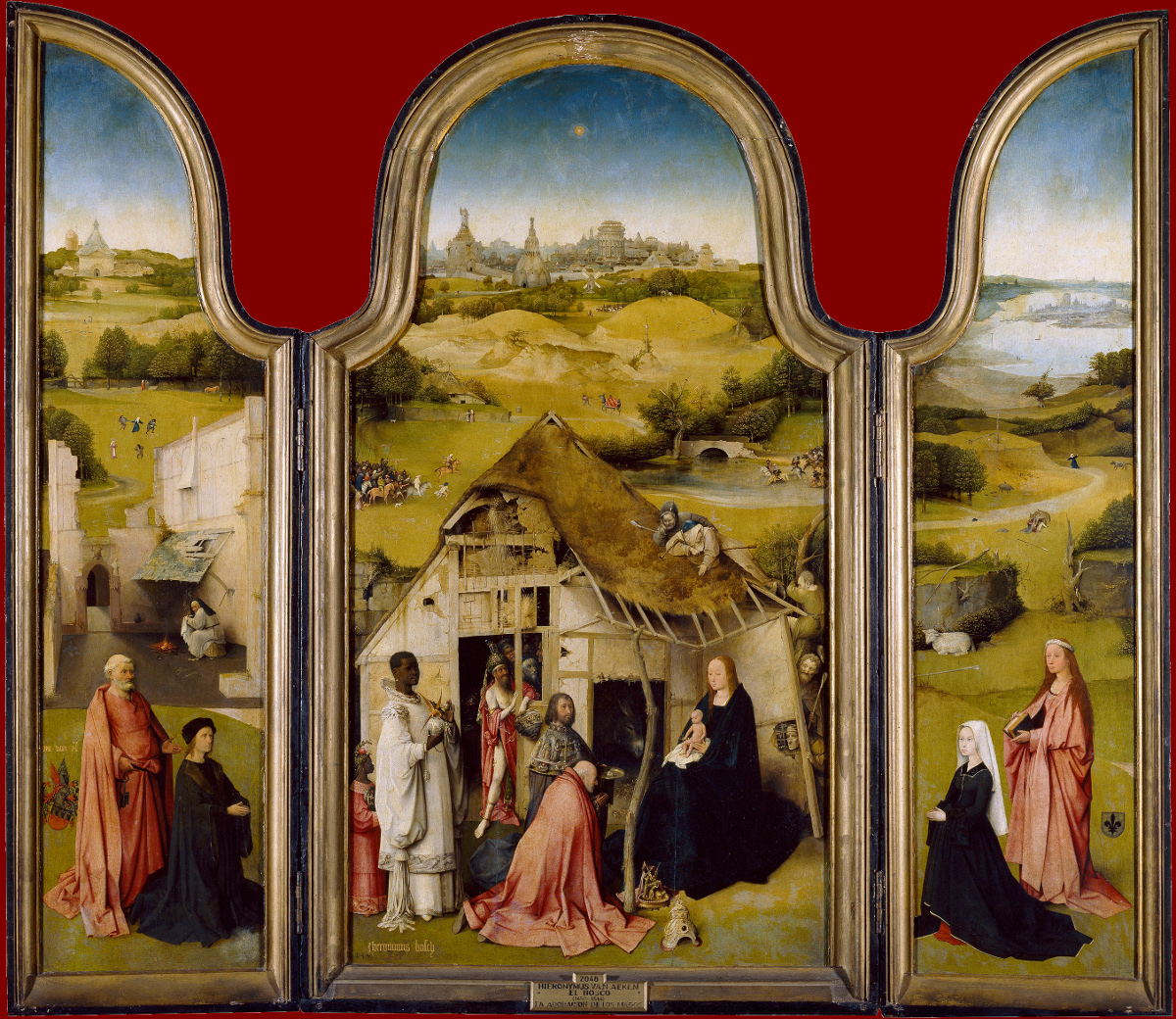 Jheronimus Bosch: The Adoration of the Magi