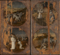 Jheronimus Bosch: Flood panels, outsides