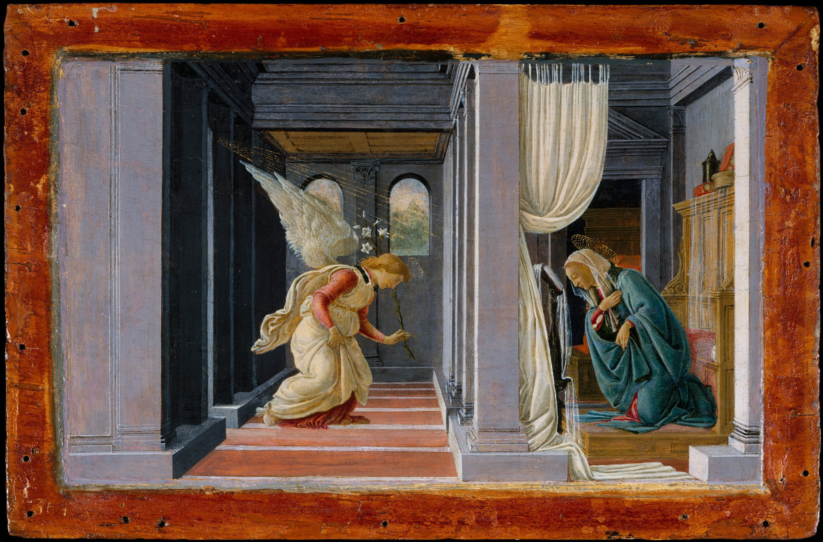 Botticelli (Sandro Filipepi): The Annunciation