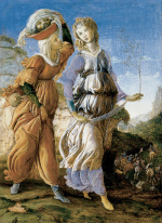 Botticelli: Judith Returns to Bethulia