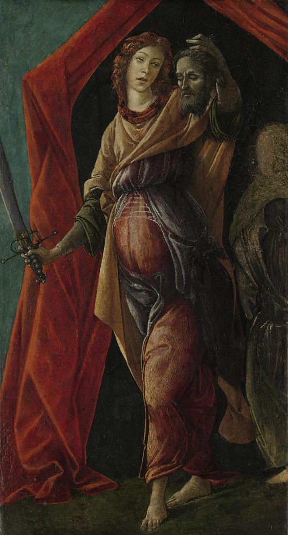 Botticelli (Sandro Filipepi): Judith Holding Holofernes' Head