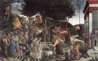 Botticelli (Sandro Filipepi): Scenes from the Life of Moses