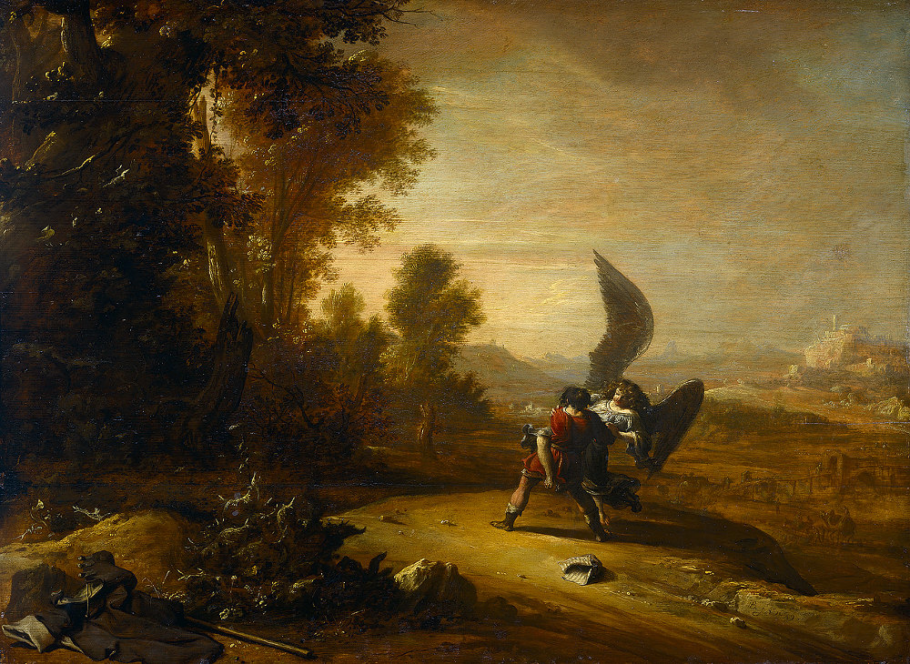Bartholomeus Breenbergh: Jacob Wrestling with the Angel