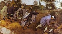 Pieter Bruegel the Elder: The parable of the blind
