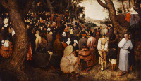 Pieter Bruegel the Elder: The Preaching of St. John