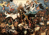 Pieter Bruegel the Elder: The Fall of the Rebel Angels