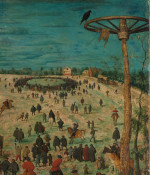 Pieter Bruegel the Elder: The Procession to Calvary (detail [2])