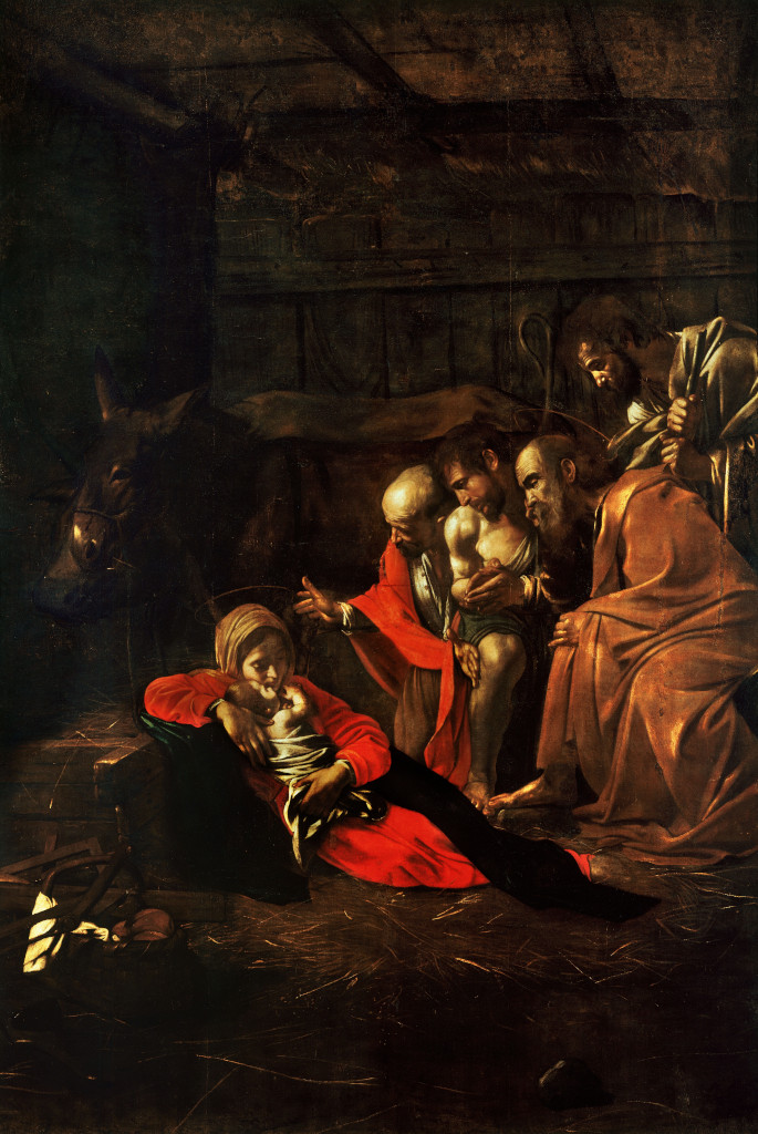 Caravaggio: The Adoration of the Shepherds