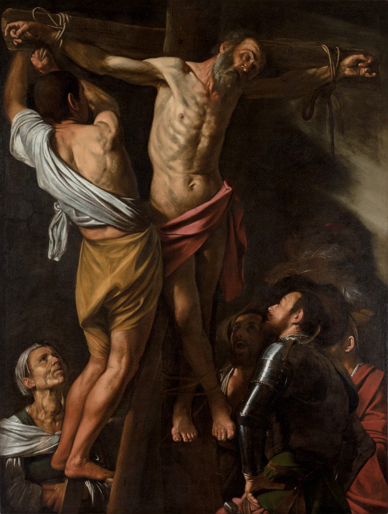 Caravaggio: The Crucifixion of St Andrew