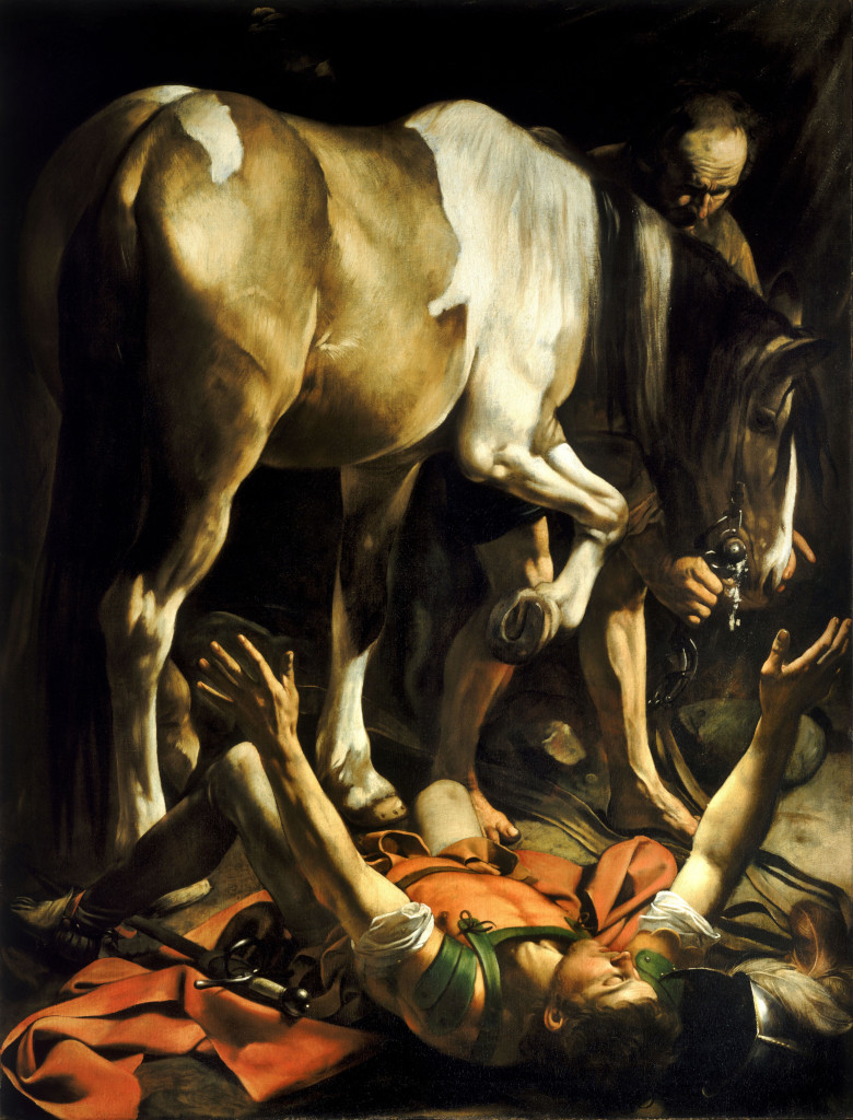 Caravaggio The Conversion Of St Paul 2