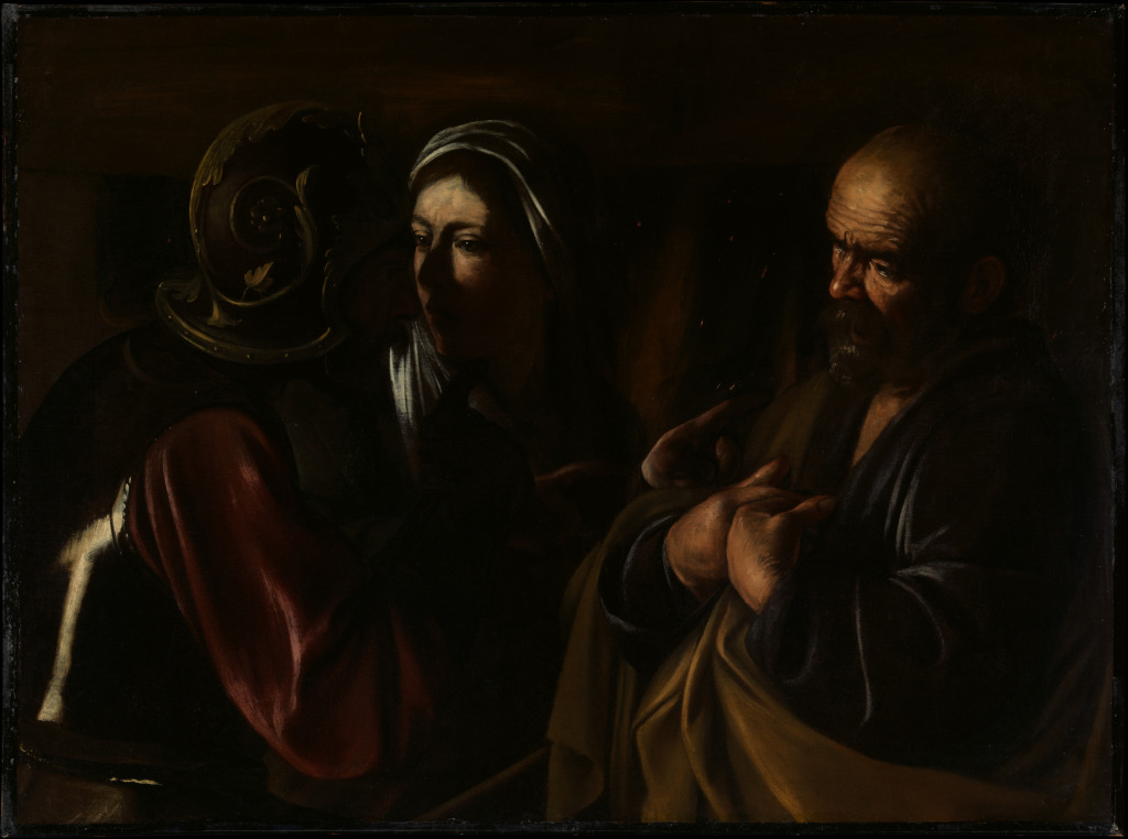 Caravaggio: The Denial of Saint Peter