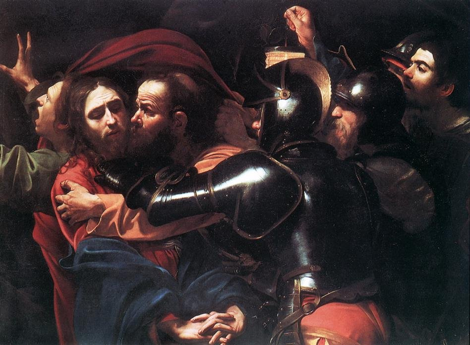 Caravaggio: The Betrayal of Christ