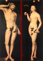 Lucas Cranach the Elder: Adam and Eve (1528)