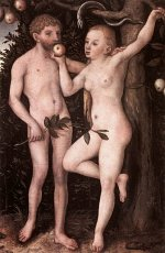 Lucas Cranach the Elder: Adam and Eve (1538)