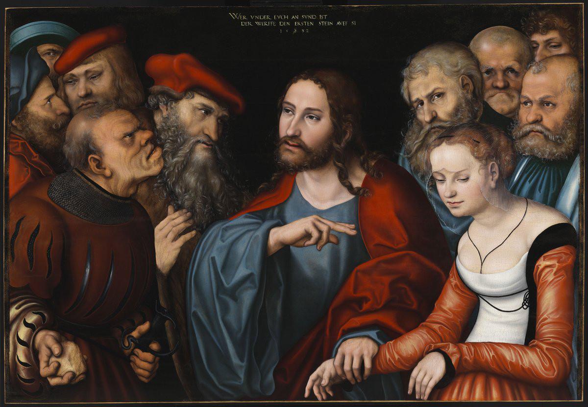 Cranach The Elder Lucas Lucas Cranach The Elder Jesus