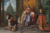 Pieter Lastman: David hands the Letter to Uriah