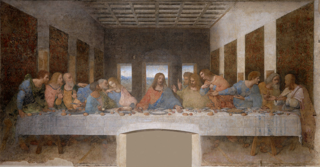 Leonardo da Vinci: The Last Supper (2)