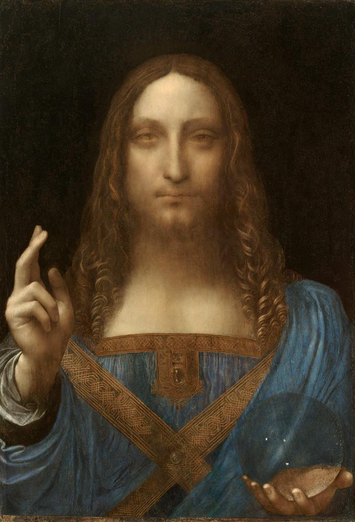 Leonardo Da Vinci S Painting Savior Of The World Salvator Mundi