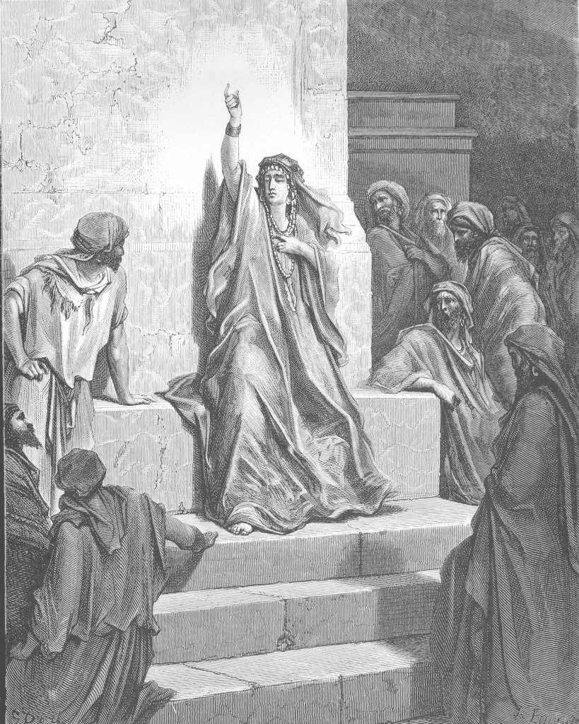 Gustave Dor�: The Prophetess Deborah