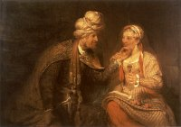 Arent de Gelder: Judah and Tamar (1681)